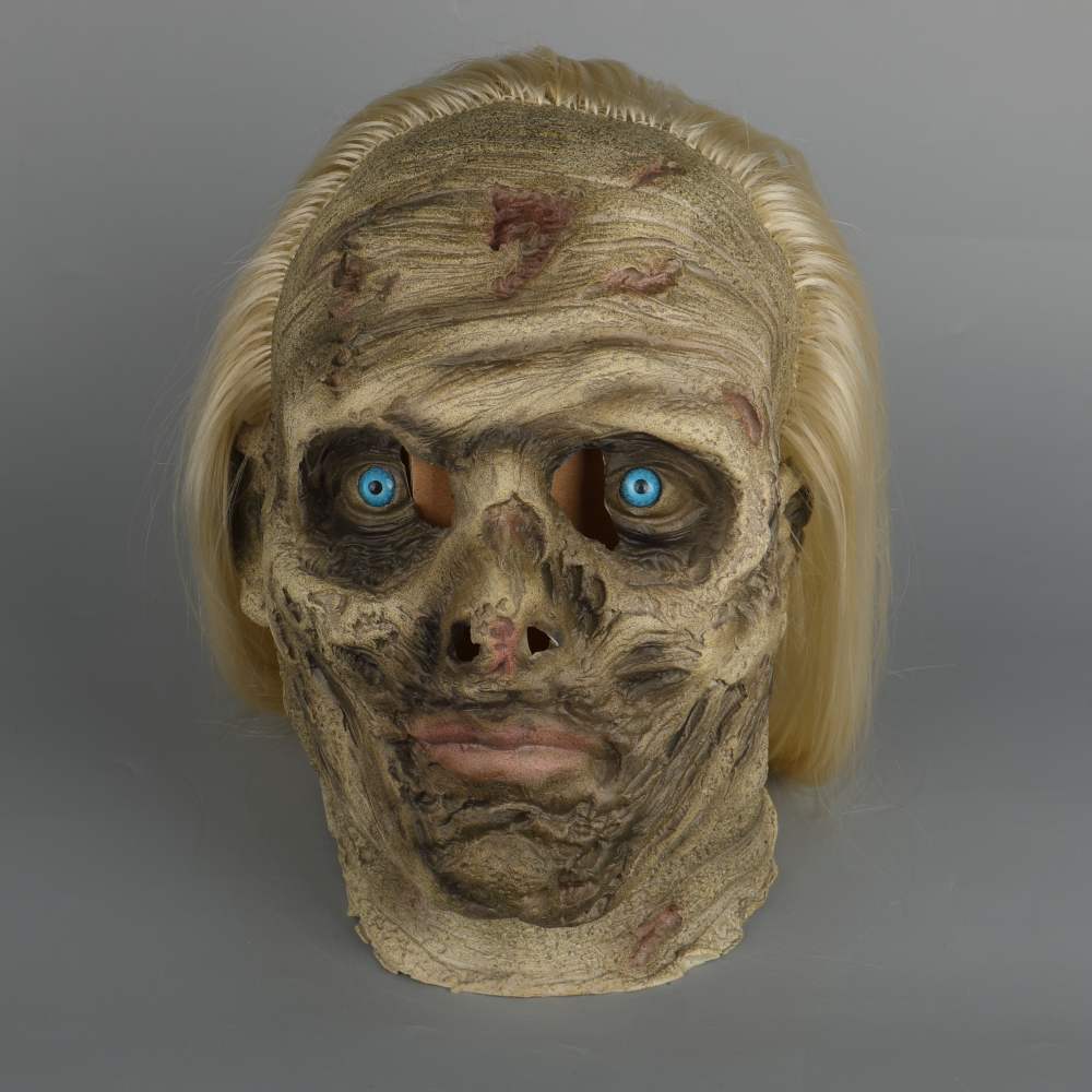 Zombie Mask The Walking Dead Alpha Whisper Dead Walkers Halloween Mask Latex Props New Cosplay Scary Mask (13)