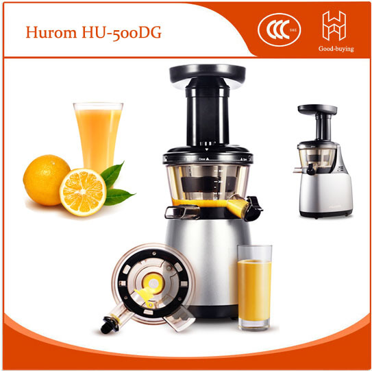 Hurom Slow Juicer Guarantee : High Nutrition Guaranteed NO.1 Hurom Slow Juicer HU 500DG Fruit vegetable Citrus Juice Extractor ...