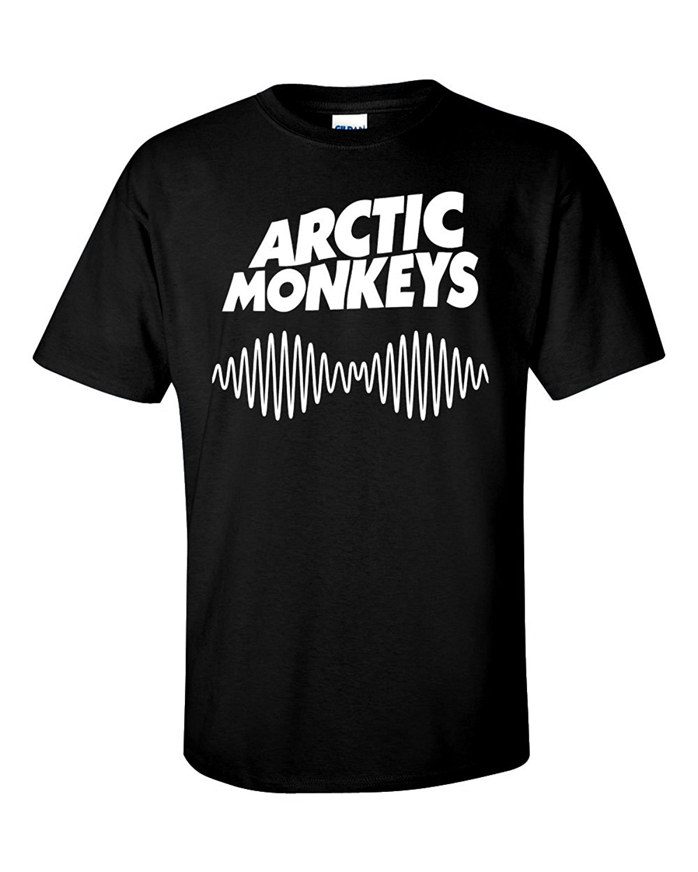 Black flag t shirt uk - Arctic Monkeys Am Rock Band Uk Flag Logo Men S White Black T Shirt Size S