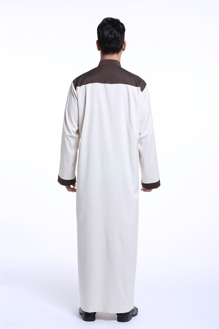 Men Saudi Arab thobe muslim , The Middle East Men's Kaftan Mosaic color