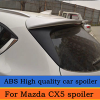 For Mazda CX5 spoiler High quality ABS material Rear wing For Mazda CX 5 2017 to 2019 spoiler Primer or any color rear spoiler