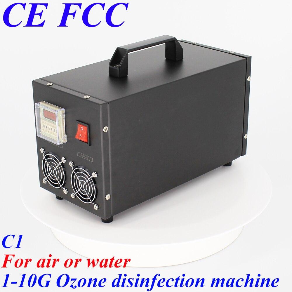 Pinuslongaeva C1 pour air ou l'eau 500 mg 1g 3g 5g 8g 10g Portable inoxydable coque en acier d'ozone air et l'eau désinfection machine