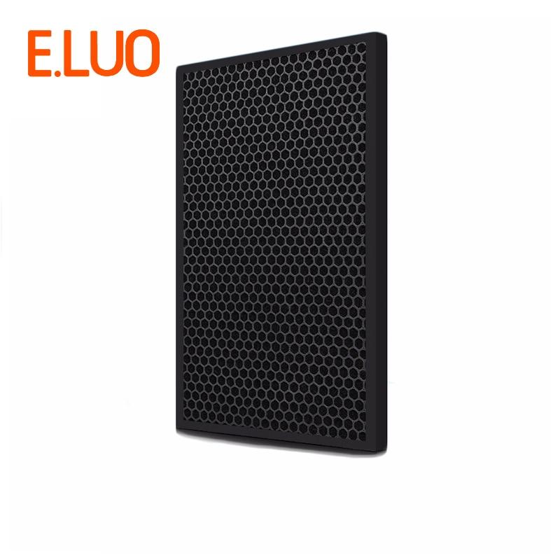434*260*6mm peças do aspirador de alta eficiência do filtro composto de filtro de carvão ativado purificador de ar peças para F-VXG70C-N etc