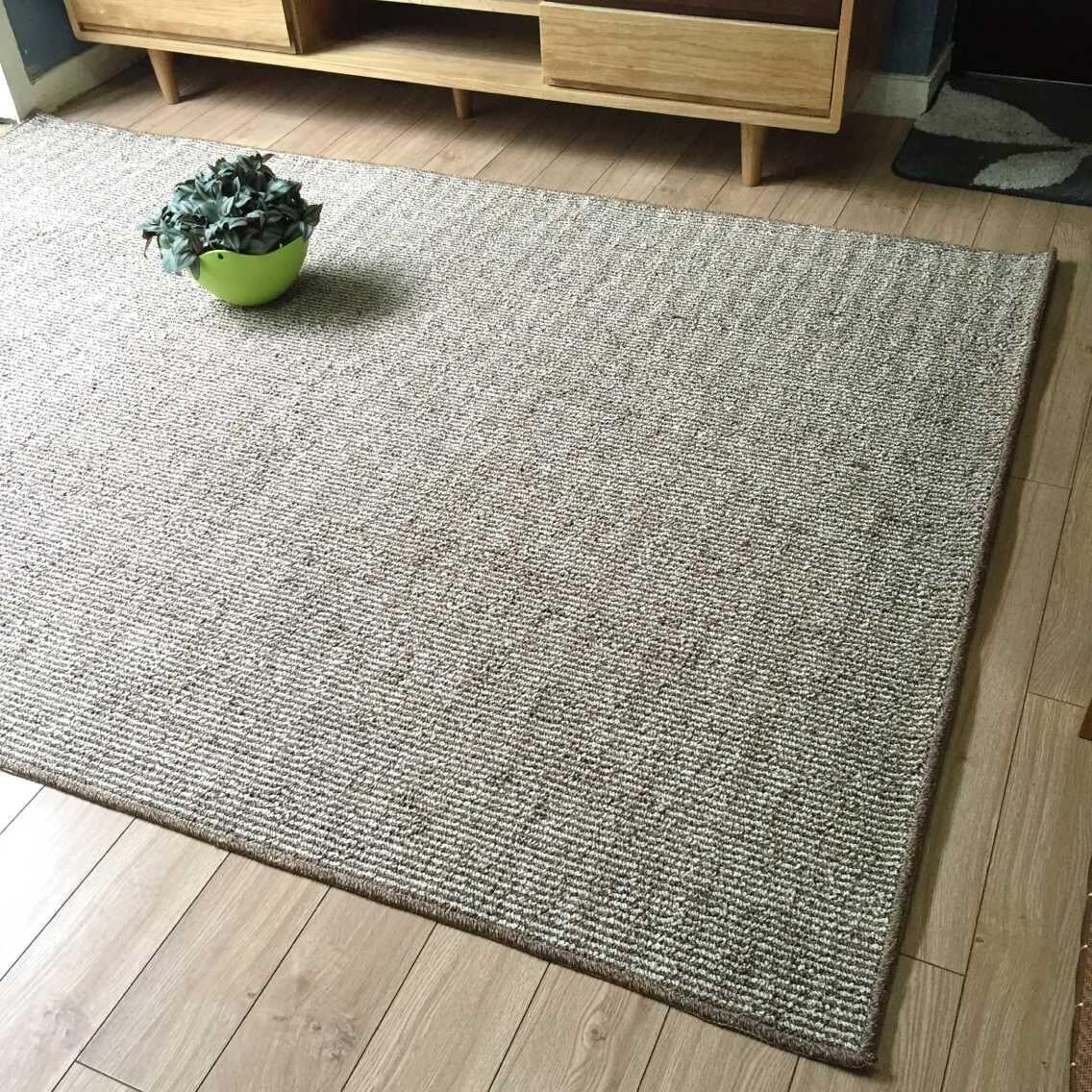 Japanese Custom Striped Simple Plain Tufted Carpet Pad