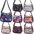 New 2015 VIVISECRET FANSHION women polyester floral Harajuku messenger One shoulder Leisure crossbody  Hobo bags cartoon Casual