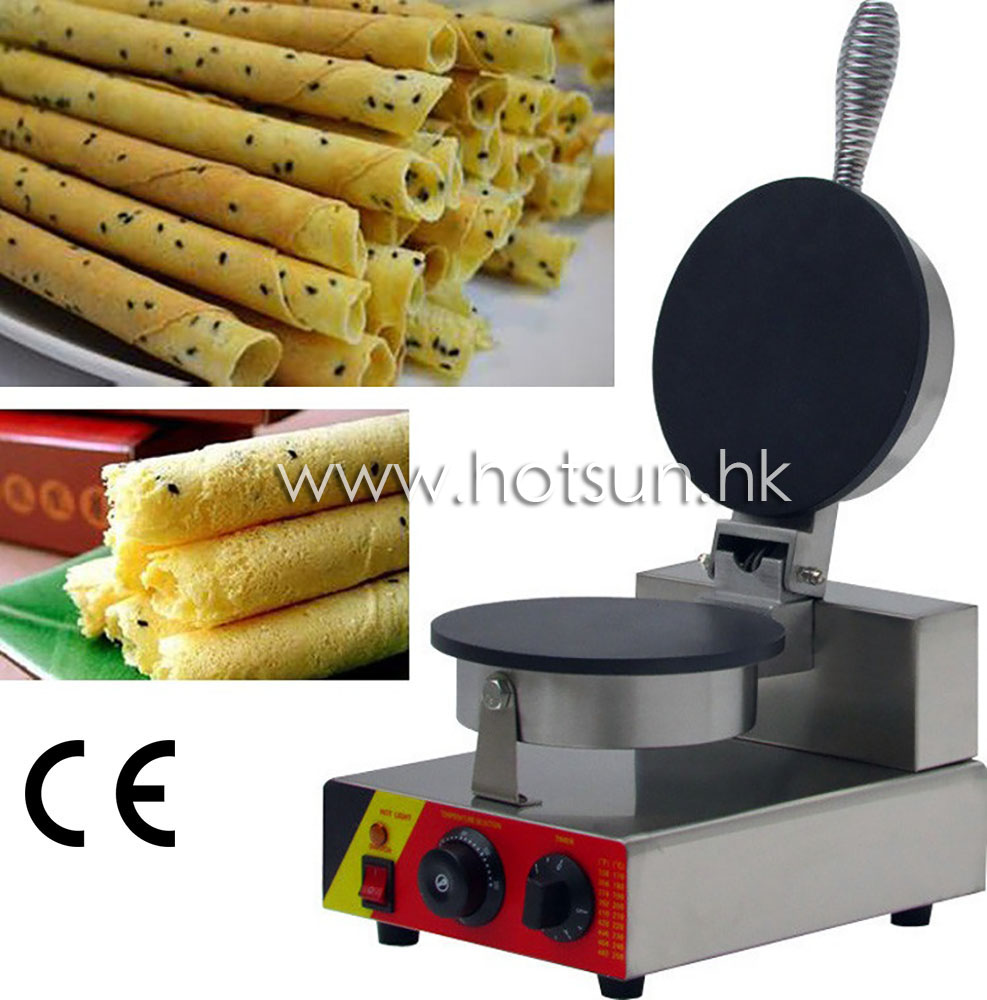 Commercial Use Non-stick 110v 220v Electric Egg Roll Maker Machine Baker commercial use non stick 110v 220v electric japanese tokoyaki octopus fish ball iron maker baker machine page 4