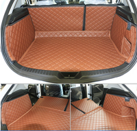 Top Carpet Special Trunk Mats For Mazda 3 Hatchback 2013 2009 Durable Waterproof Boot Carpets For