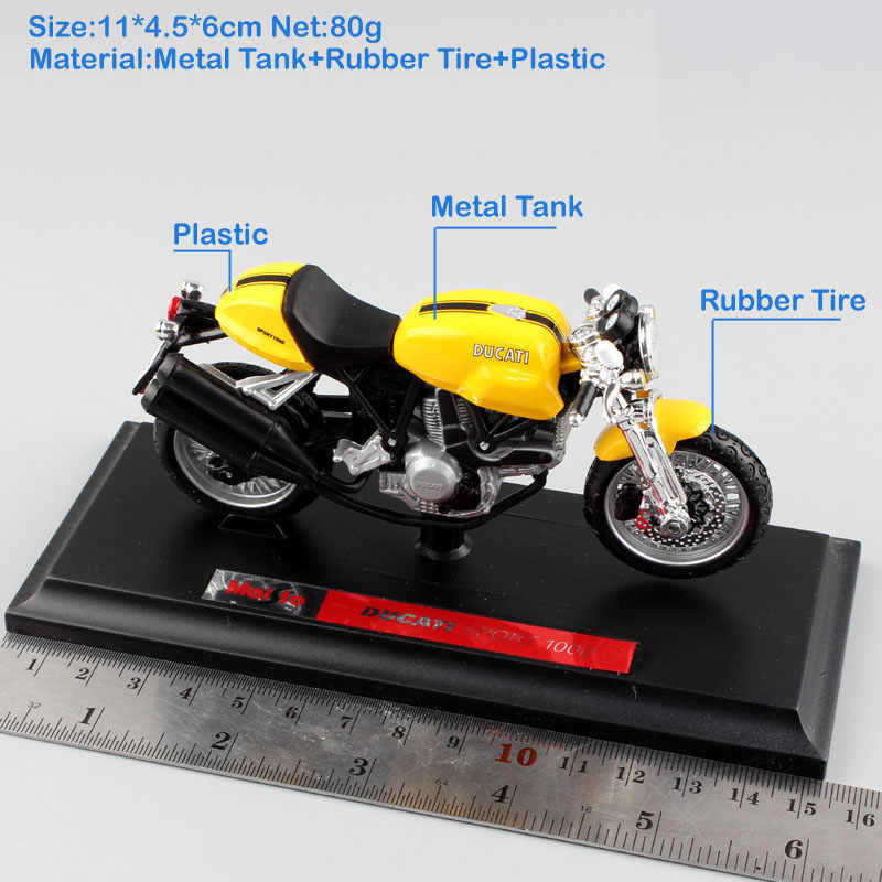 1:18 Skala Anak Olahraga 1000 Superbike Logam Diecast Moto Rcycle Balap Moto Mobil Styling Model Auto Koleksi Mainan untuk Anak Laki-laki anak