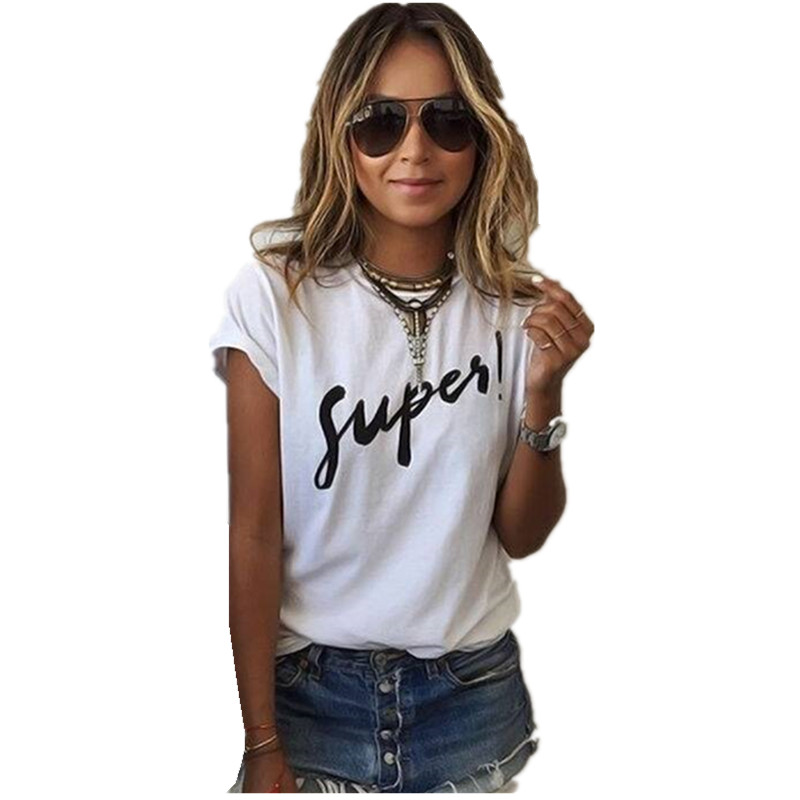 HTB1LgnnRVXXXXaDXpXXq6xXFXXXj - Brand New T Shirt Women Fashion Letter Print  Tee Tops Short Sleeve O-neck Women T Shirts Casual Thin Style Female T-Shirt