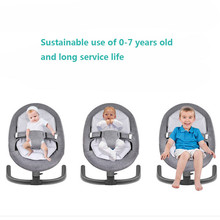 Baby Sleeping Basket For Baby Bebek Salincak Aluminum Newborn Baby Swing Bouncer Rocking Chair automatic cradle bebek salincak цена