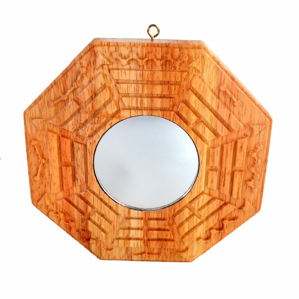 feng shui madera melocotn convexa espejos bagua pakua bagua convexpeach