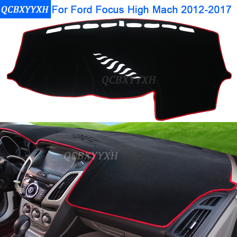 Car Styling Dashboard Avoid Light Pad Protective Mat Photophobism Pad Interior Carpet For Ford Focus High Mach 2012-2017