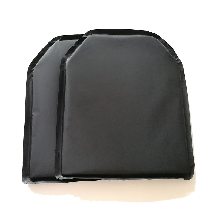 2Pcs/Lot 10'' X 12'' E Shap Aramid Core Soft Bulletproof Panel Level NIJ IIIA Ballistic Plate NIJ 3A Stand Alone Body Armor