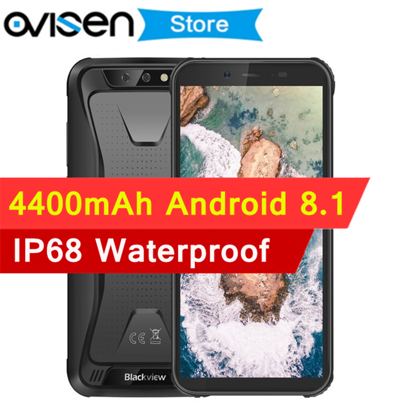 Blackview BV5500 IP68 Waterproof 3G Smartphone 2GB 16GB 5 5 Inch 18 9 Screen 4400mAh Big