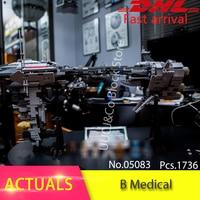 Lepin 05083 1736pcs MOC Nebulon B Medical Escort Frigate Building Blocks Set Bricks Toys For Children