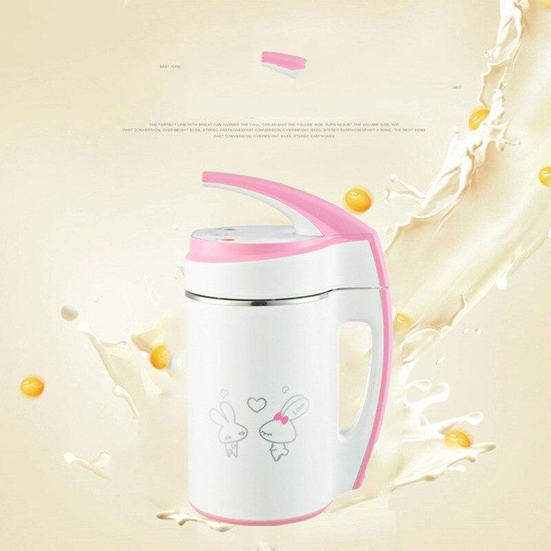 mini Soybean Milk machine 0.6 0.8L soy milk grinder soybeans milk maker Stainless Steel Milk shake juicer baby food blender