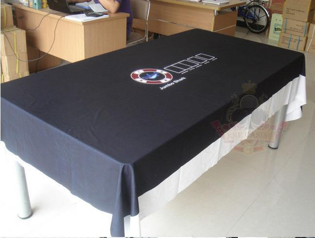 WP-005  Professional Water Resistant Poker Table Cloth,  Casino Layout Game Cloth 1PC wp 018 professional water resistant poker table cloth stock for promotion free shipping