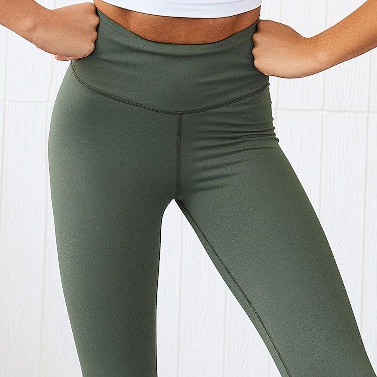 cintura alta magro plus size calças de yoga xl