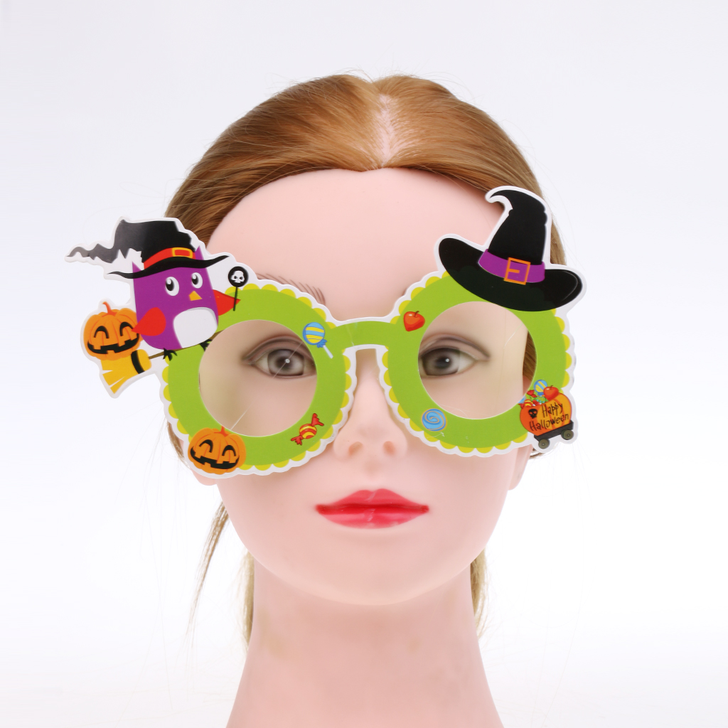Halloween Cartoon Glasses for Funny Fancy Dress Party Costumes ...