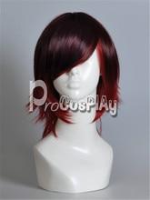 Rwby RWBY-Red remolque Ruby Rose Cosplay peluca mp000661