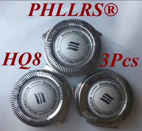 3 stücke HQ8 Ersetzen kopf rasierklinge für philips rasierer PT730 PT735 PT860 PT870 AT750 AT751 AT890 AT891 HQ7120 HQ7100 HQ7140 HQ9