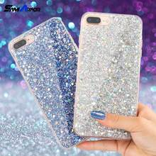 Bling Glitter Case for Samsung Galaxy A3 A5 A7 J5 J7 2017 S7 Edge S8 S9 Plus Note 8 for iPhone X 5 5S 6 6S 7 8 Plus Coque Cover(China)