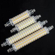 78mm 118mm R7S Led 램프 J78 J118 AC 220V 110V 2835SMD 64 128 Led 스포트 라이트 할로겐 투광 조명 R7S Lamparas 깜박임 없음