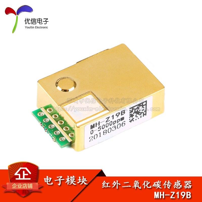 Infrared Carbon Dioxide Sensor MH-Z19B Air Quality Monitoring /CO2 Concentration Sensor ModuleInfrared Carbon Dioxide Sensor MH-Z19B Air Quality Monitoring /CO2 Concentration Sensor Module