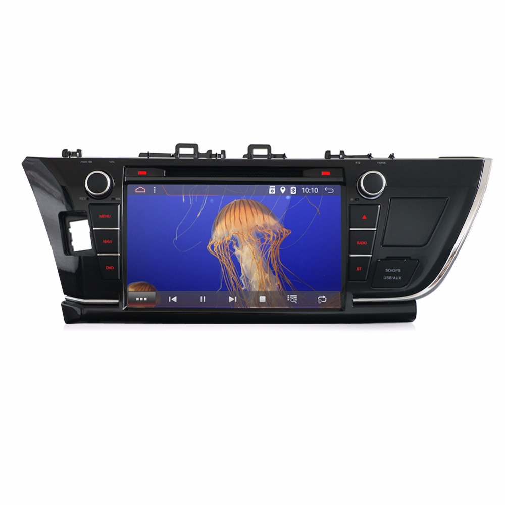 bosion 9 Android 7.1 Capacitive screen Car DVD Player for Toyota Corolla G Wifi Radio GPS Bluetooth Stereo Rear View Camera