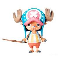 Anime een stuk pop tony tony chopper 2 jaar nieuwe wereld 12 cm pvc action figure speelgoed collectie model