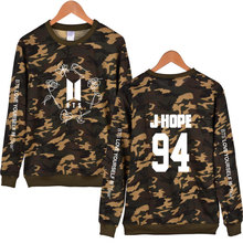 Bangtan7 Love Yourself Camouflage Sweatshirts (8 Models)