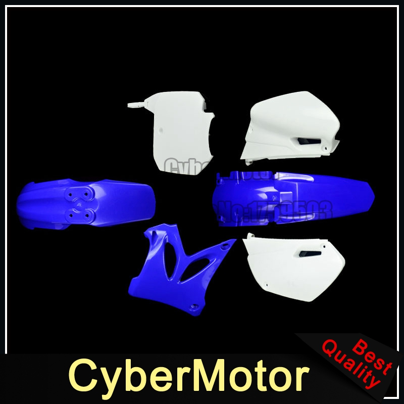 Blue Plastic Fender Fairing Kit For Dirt Bike Motorcycle Yamaha YZ85 2002-2014 plastic motorcycle body kit for yamaha yz85 2002 2014 motocross dirtbike supermoto enduro page 1 page 2