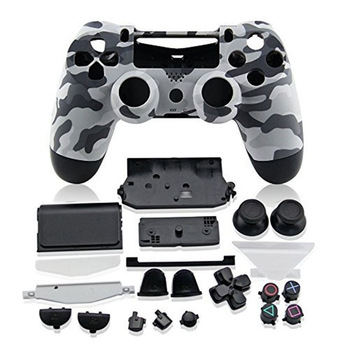 цена на PS4 Full Housing Controller Shell Case Cover Mod Kit buttons For Playstation 4 Dualshock 4 PS 4 V1 Replacement Camouflage Camo