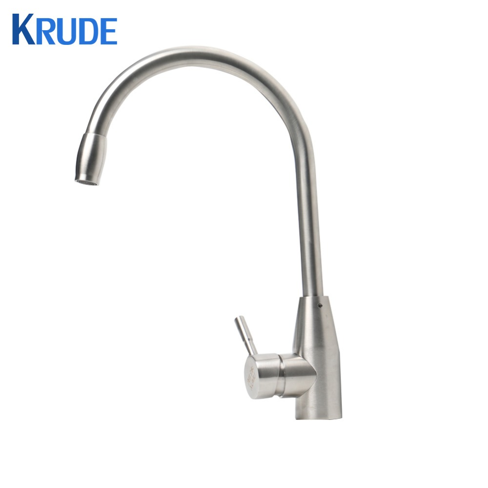 304 Stainless Steel Kitchen Universal Faucet Cold And Hot Water Mixed Dish Faucet Full Faucet Pull Down Kitchen Sink Faucet dish best served cold
