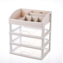 Cosmetic Storage Box Desktop Finishing Dressing Table Drawer Plastic