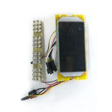 36V LCD Screen Display Panel For 8 Inches Electric Scooter Replacement Accessories Suitable For KUGOO S1 S2 S3 Electric Scooter(China)