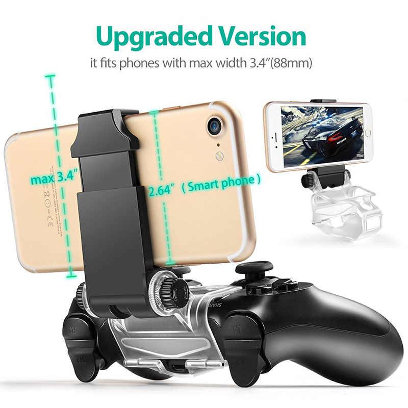 Pieghevole Controller di Gioco Gamepad Supporto di 180 Gradi Angolo di Supporto Adjustanble 6 Pollici Del Telefono Mobile Per PS4 Sottile/Pro