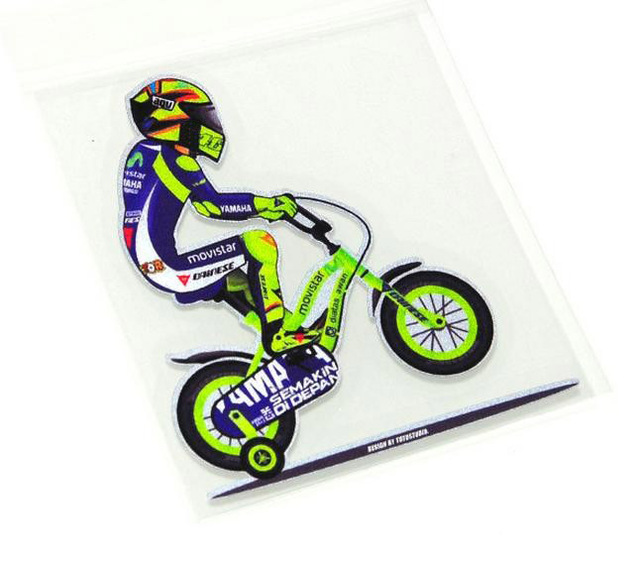 Front Windshield sticker Rossi ride on bicycle motorcycle racing decals  motor sport VR 46 rossi stickers