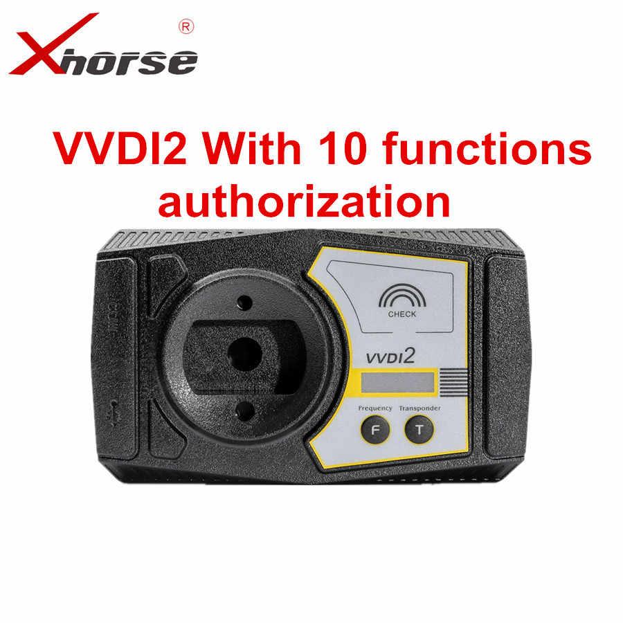 أصلي Xhorse V6.6.6 VVDI2 قائد مفتاح مبرمج ل V-W/أودي/BMW/بورش النسخة الكاملة مع MQB مجموع 10 تفويض وظيفة