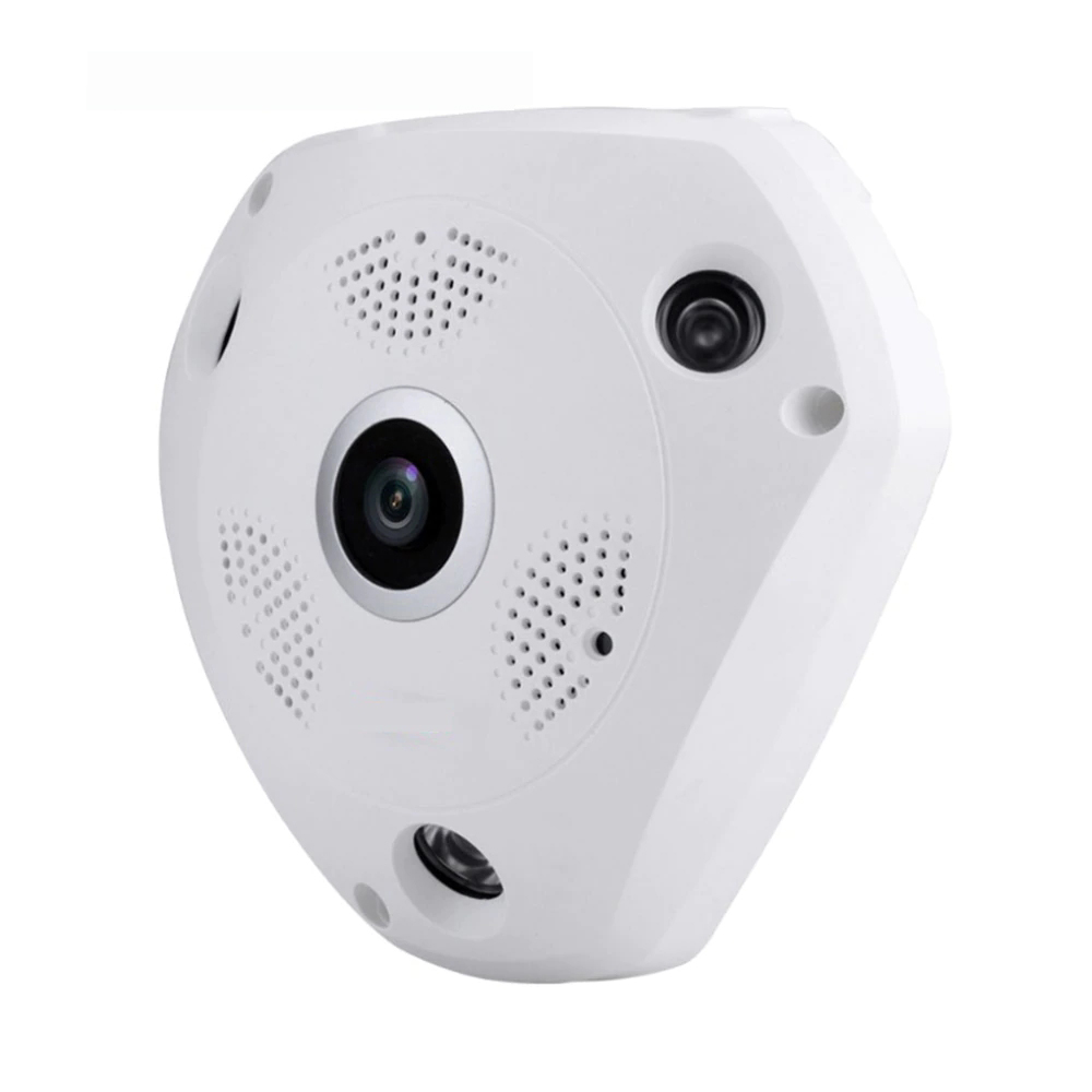 3G/4G Wireless 360 Degree Panoramic Mobile IP Camera with 3MP Alarm VR Camera Surveillance Used as WIFI Hotspots Free APP Alarm - 3