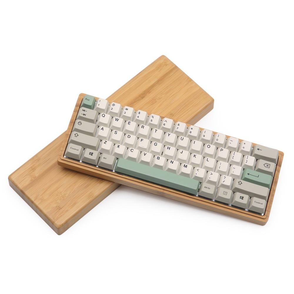Good Buy gh60 dz60 case 60% bamboo case diy