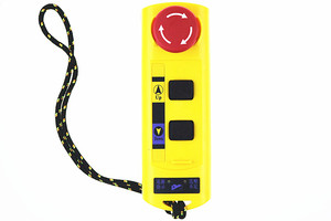 Image 4 - A2HH electric hoist with a direct control type industrial remote control built in contactor with emergency stop