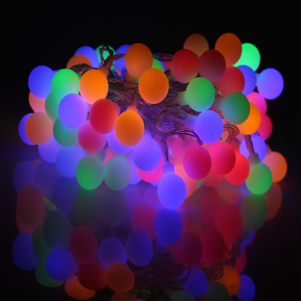 Battery Operated Outdoor String Lights Globe: Aliexpress.com : Buy 8 Modes 6M 60LED 3AA Battery Operated