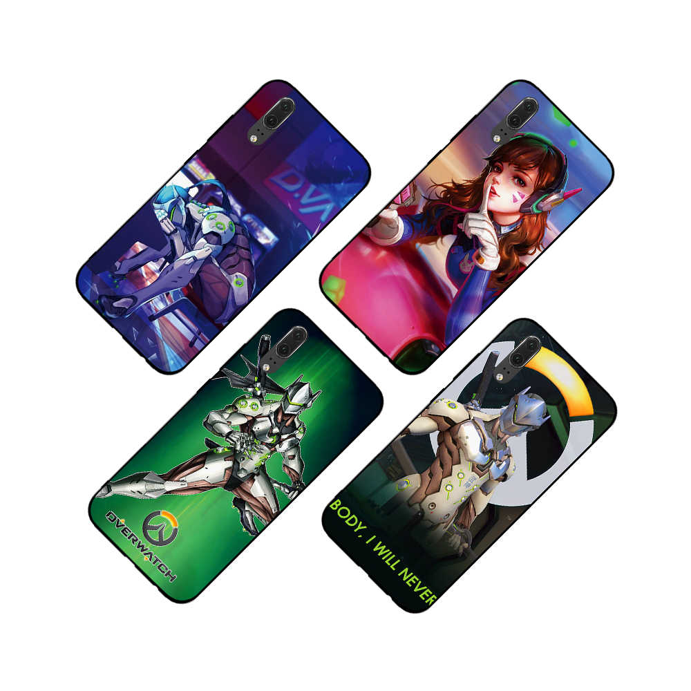 สำหรับ Overwatchs Tracer โทรศัพท์นุ่มสำหรับ huawei Honor 6A 7A 3GB Pro 7X 8X 8C 10 Lite หมายเหตุ 10 ปกหลัง