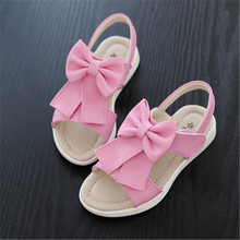 Summer Girls Brand Sandals Kids Flower Princess Sandals New type Girls Fashion Shoes Children Outdoor Shoes Sandals