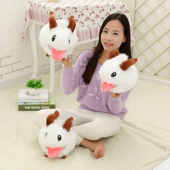 30CM New LOL Poro plush toy Doll Legal Edition High quality SUPER CUTE& SOFT &HIGH QUALITY Kids Toys Gift