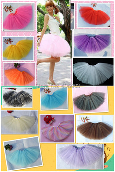 "adult tutu skirt 3layers tulle tutus 18""length"