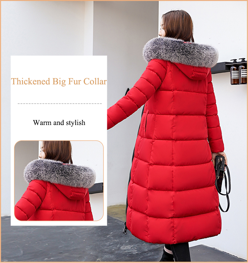 Warm Women Coat For 4