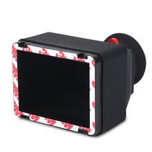עמיד 3.2 אינץ LCD עינית 3X זכוכית מגדלת הרחבת כיסוי אבזר שמשיה DropShipping עבור DSLR ראי מצלמות 3.2 ב