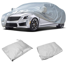 NICECNC Auto Car Cover Indoor Protector Anti Scratch Dust Sun Resistant For Sedan